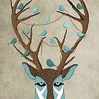 The deer by Egle Plytnikaite