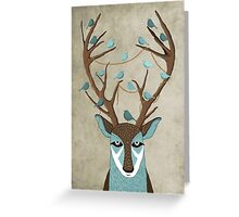 The deer Greeting Card