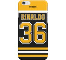 Boston Bruins Zac Rinaldo Jersey Back Phone Case iPhone Case/Skin
