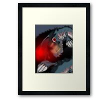 Fish Story Framed Print