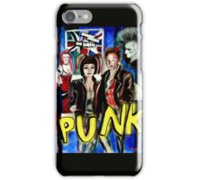 Punk Rock Style  iPhone Case/Skin