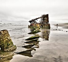 The Wreck of the Peter Iredale by TeresaB