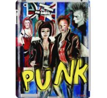 Punk Rock Style  iPad Case/Skin