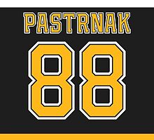 Boston Bruins David Pastrnak Jersey Back Phone Case by Russ Jericho