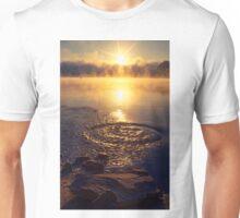 Ripple ring splash in water lake Unisex T-Shirt