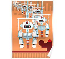 Robot Assembly Poster