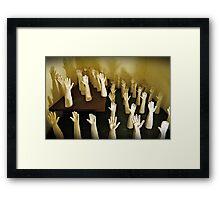 Hands Of Death! Framed Print
