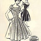 Patt - O - Rama Pattern 1083 : Circa Early 1950's by Lisa Defazio