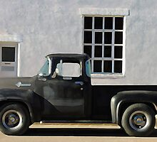 Red Lodge Chevy Pick Up by pmreed