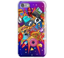 teenage explosion iPhone Case/Skin