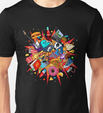 teenage explosion Unisex T-Shirt