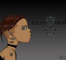 Goth Gurl by Michael Hall
