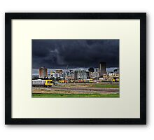 Rush Hour Before The Storm Framed Print