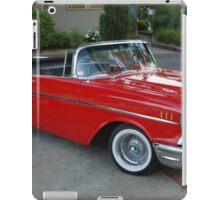 1957 Chevrolet Convertible iPad Case/Skin