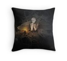 I of The Mourning Throw Pillow