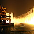 Biggest fountain in the World - Dubai by Christine Reynier
