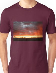 Hot Sunset in Outback Australia Unisex T-Shirt