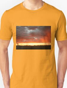 Hot Sunset in Outback Australia T-Shirt