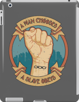 A Man Chooses, A Slave Obeys  - Bioshock by Adho1982