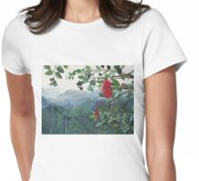 Koolau Ohia Lehua Womens Fitted T-Shirt