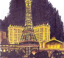 The Eiffel Tower of Vegas by Emily Cronin
