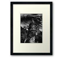 Gotham City house Framed Print