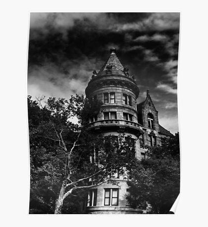 Gotham City house Poster