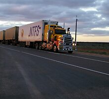 Kenworth 908 Triple Road Train by boydcarmody