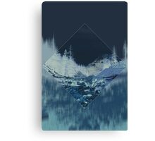 Into the Woods Invert Canvas Print