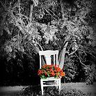 Floral Chair by Carrie Bonham