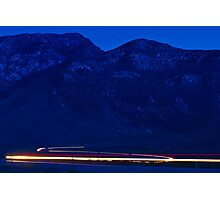 White streaks Photographic Print