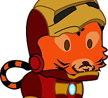 My little Iron Man by Kittyscat