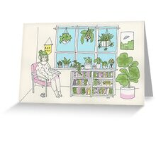 Plant Life Greeting Card