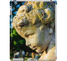 Memphis Elwood Cemetery - Boy Angel Vertical iPad Case/Skin