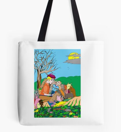 Natural attraction Tote Bag