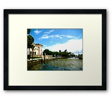 Vizcaya Gardens and Museums, Miami Framed Print