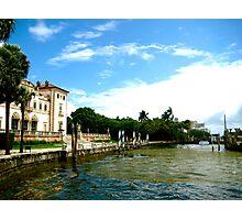 Vizcaya Gardens and Museums, Miami Photographic Print
