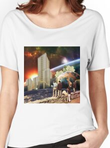 Future Landscapes Women's Relaxed Fit T-Shirt
