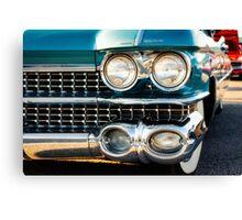 1959 Cadillac Sedan Deville (Series 62) Grill Canvas Print