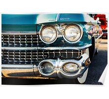 1959 Cadillac Sedan Deville (Series 62) Grill Poster