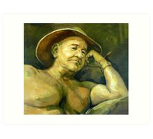 The Old Aussie Digger Art Print