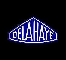 Classic Car Logos: Delahaye by brookestead