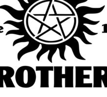 Winchester brothers since 1983 (black version) Sticker
