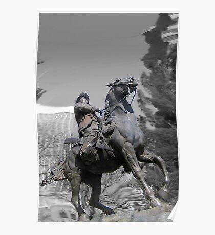 Pancho Villa rides through Tucson Poster