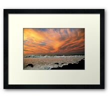 SKYSCAPE ART ! Framed Print