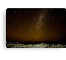 Atacama Star Trail Canvas Print