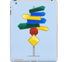 Direction Sign iPad Case/Skin