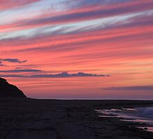 Rattray Point at Sunset by Maria Gaellman