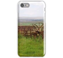 Farm Machinery at Ribble Viaduct iPhone Case/Skin