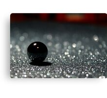 Black pearl Canvas Print